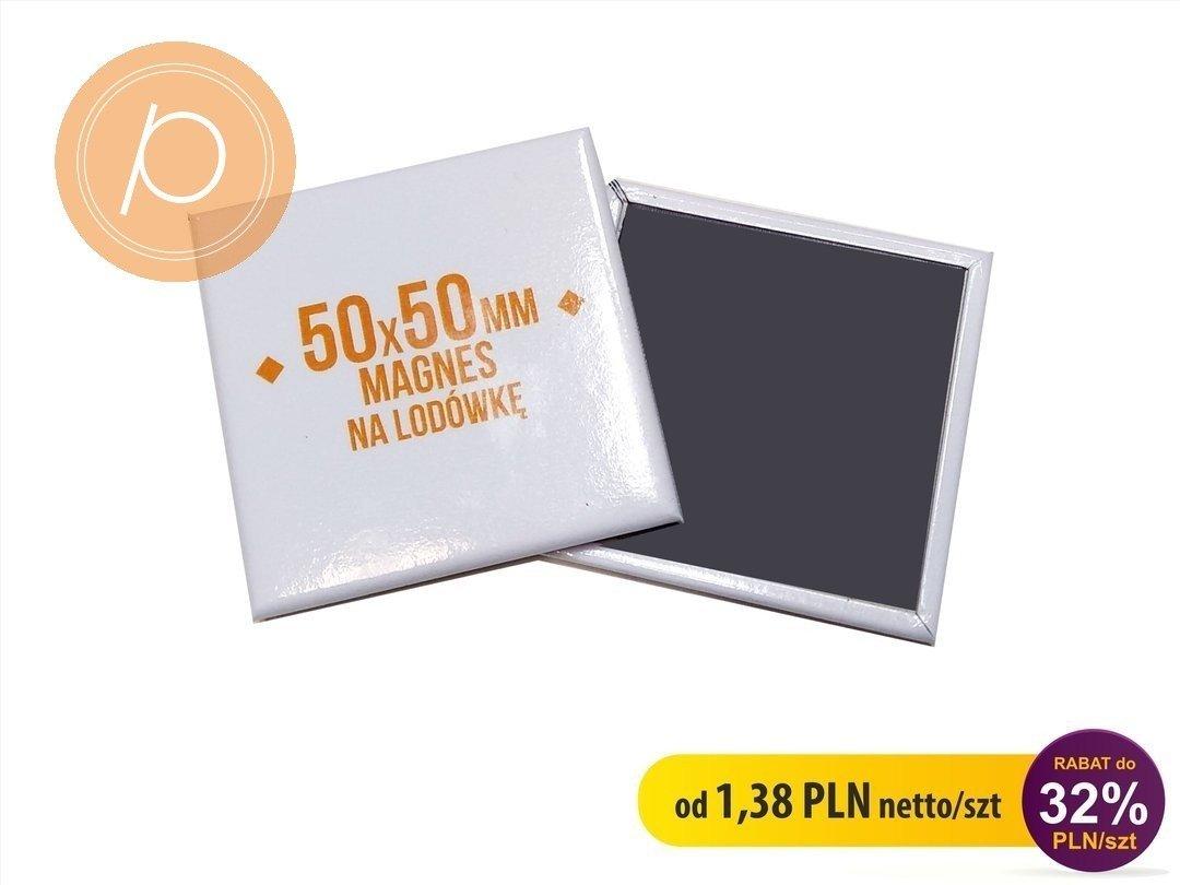 Magnes prostokąt LUX 50x50mm